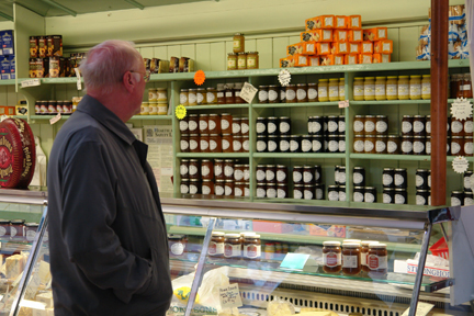 Jam for sale on Todmorden Indoor Market